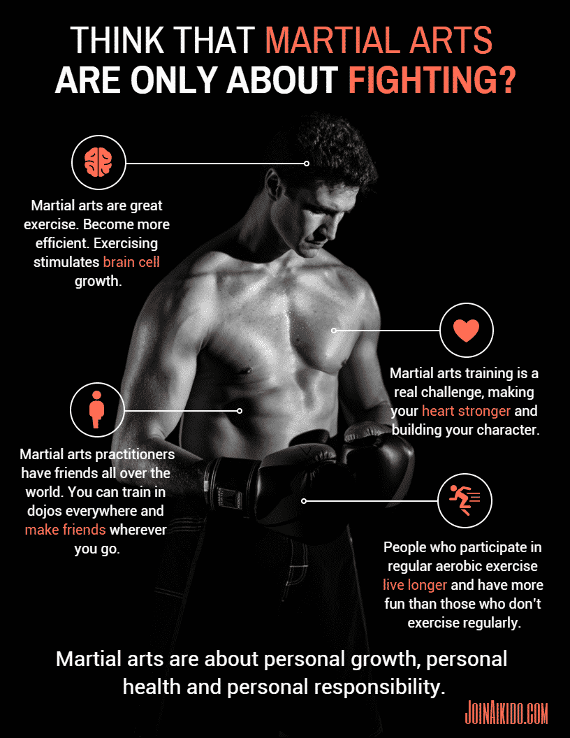 martial arts are not only about fighting